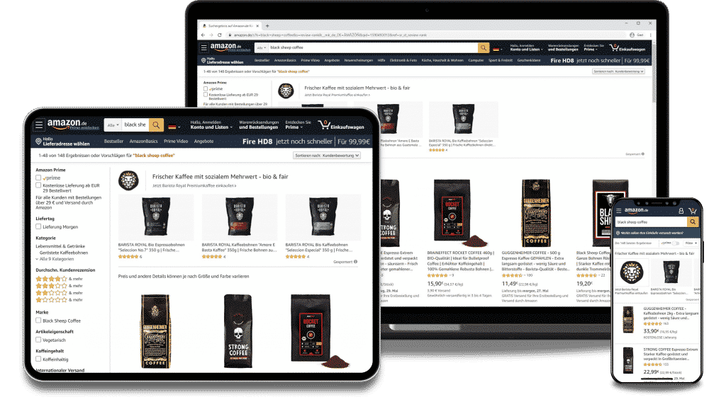 Amazon Advertising Agency Germany - Consultation and Support of Amazon Online Campaigns